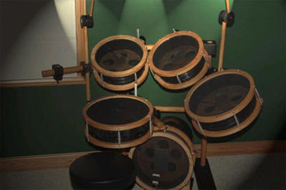 5-Gallon 5-Piece Electronic Drum Set