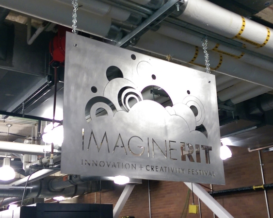 Metal Imagine RIT Sign