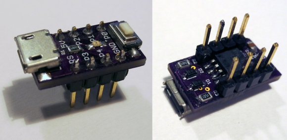 The Smallest ATtiny85 Based USB Board | Hackaday