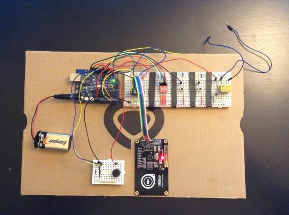 RFID Garage Door Opener