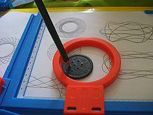 Art-O-Matic automatic Spirograph