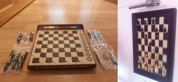 wall mounted chess