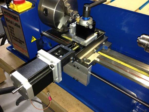 Lathe Cnc Upgrade Is Nothing To Shake A Turned Stick At Hackaday