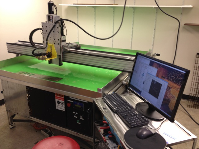 LinuxCNC Based Plasma Cutter Router | Hackaday