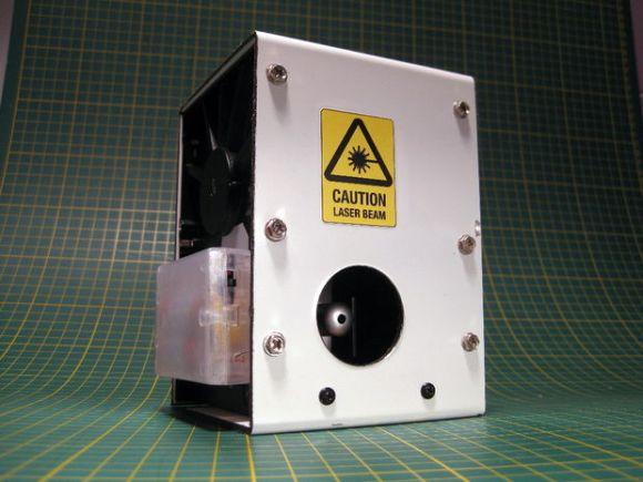 hard drive laser level