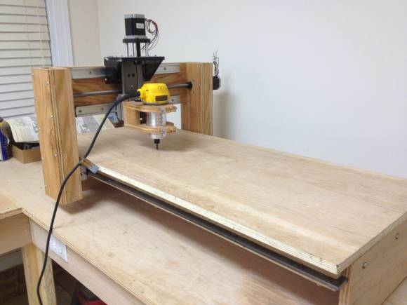 Building A Wood Cnc Router From Scratch Hackaday