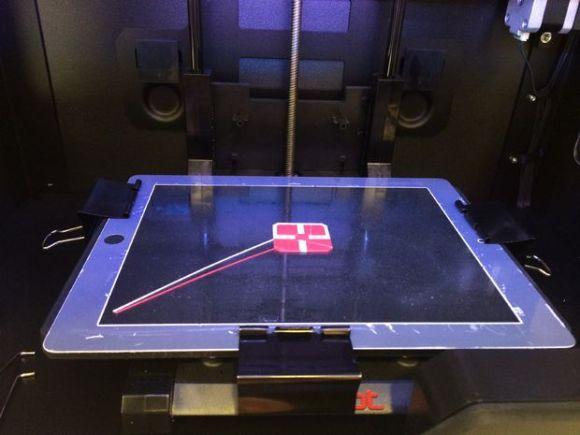 ipad 3d printing bed