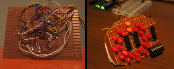 LED Clock ATtiny84