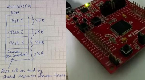 MSP430 Scheduler