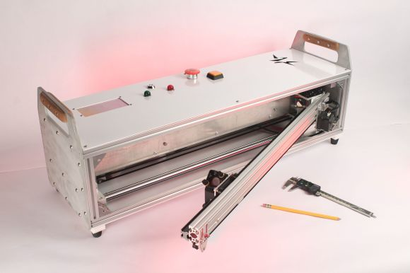 fold out laser cutter