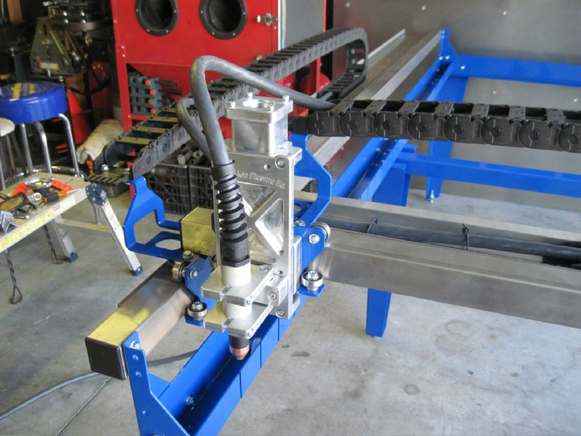 CNC Plasma Cutter Build Presented In