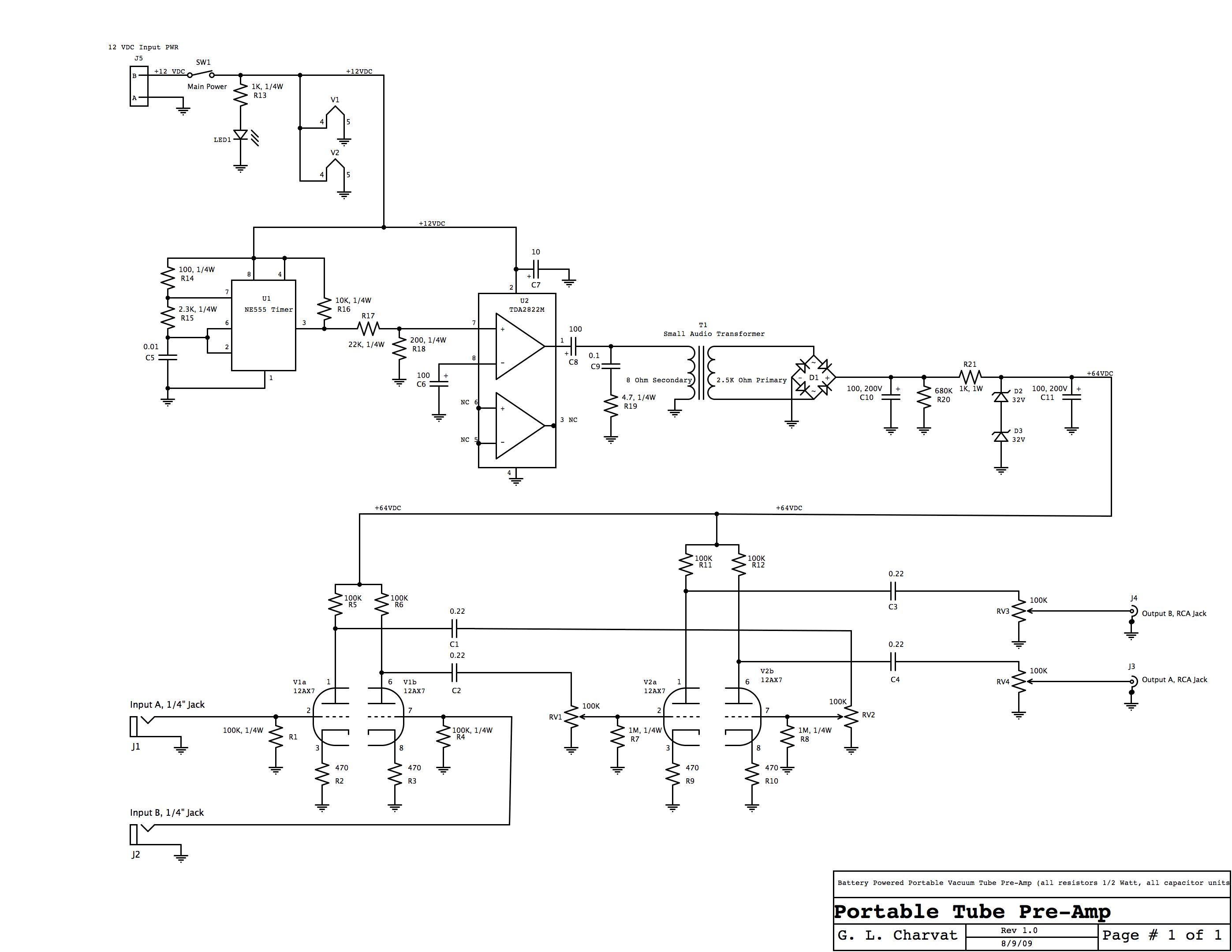 Keep those filats lit, Design your own Vacuum Tube Audio ...