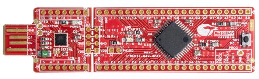 CY8CKIT-049-41XX Dev Kit