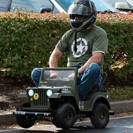 Power Wheels Racing Jeep