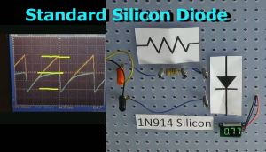Two applications of a Silicon Diode.