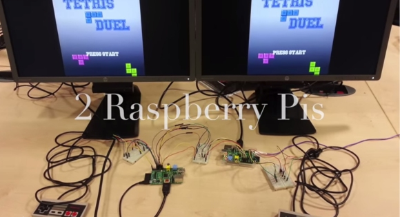 Tetris Duel With The Raspberry Pi | Hackaday