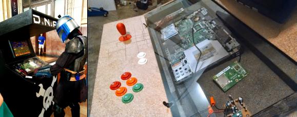 arcade cabinet build