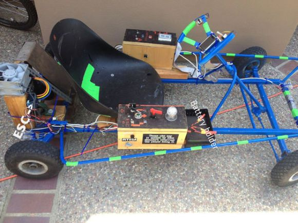 arduino powered go cart