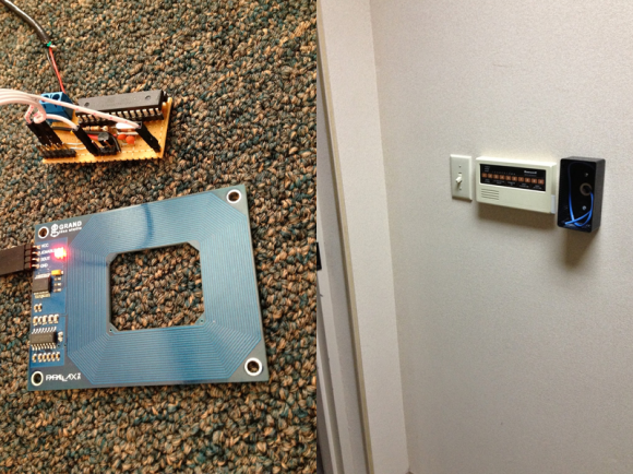 homemade RFID Door Locks