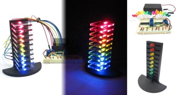 Audio LED Light Tower