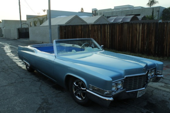 The Carpool DeVille Hot Tub Car
