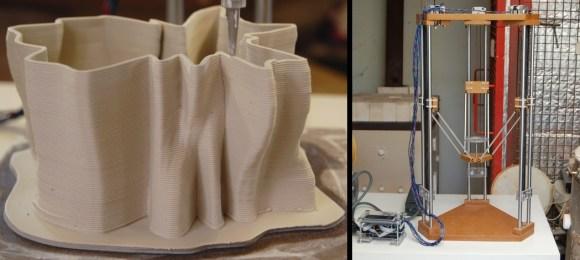 Clay 3D Printer