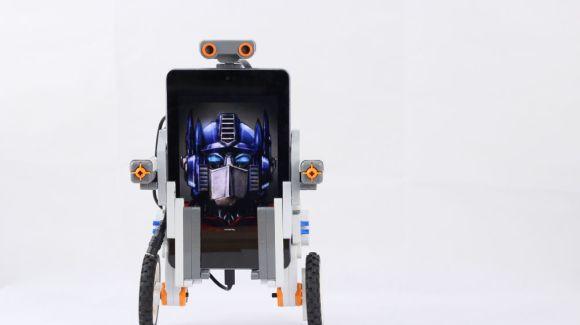 LEGO NXT + Android = Self Balancing Robot