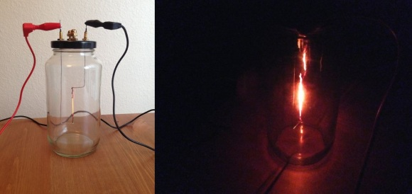 home made lightbulb
