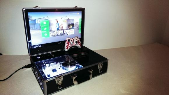 XBox in a Briefcase
