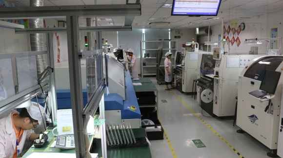 Assembly line in shenzhen