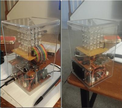 LED Cube Audio Visualization