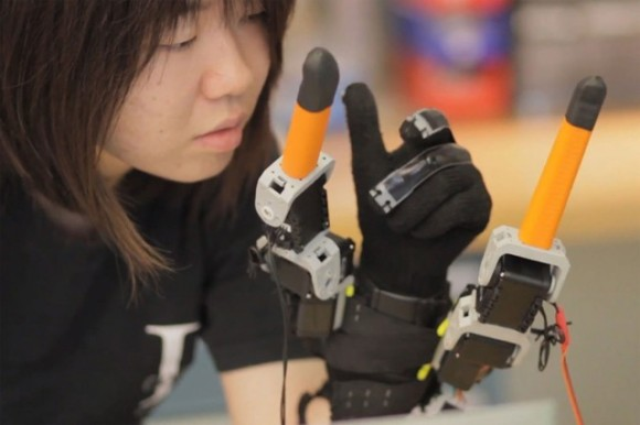 7 finger robotic glove