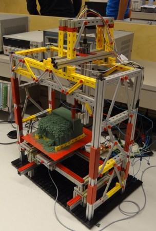 FischerTechnik + Arduino CNC Milling Machine