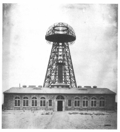 Tesla's tower on long island, NY