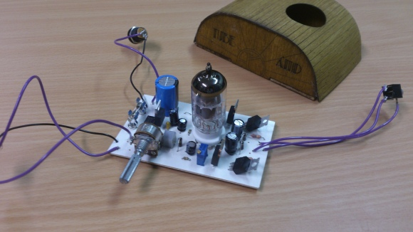 DIY Tube Headphone Amp