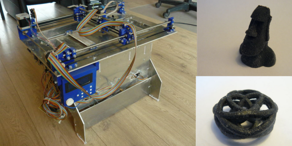 Open Source Powder Based 3D Printer