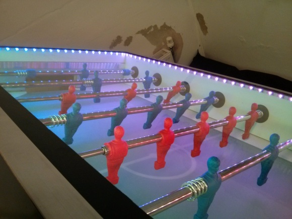 internet of things foosball