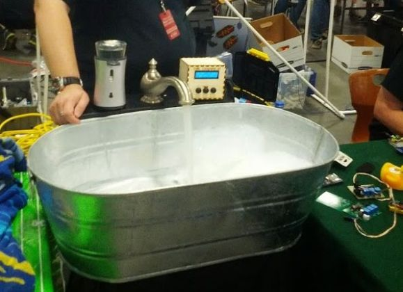 Automated Bathtub Controlled by Arduino