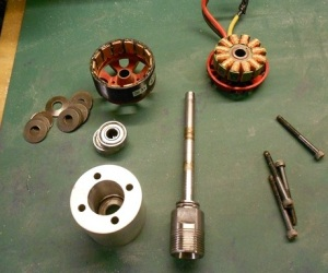 Brushless DC Motor CNC Spindle