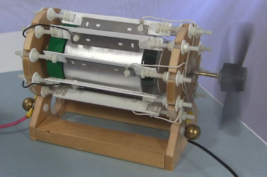 Corona Motor (Electrostatic Drive)