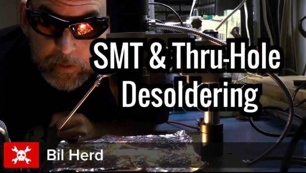 Desoldering Surface Mount and Through Hole Components