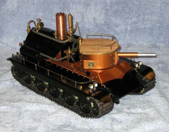 Steam Powered Tank for the 21st Century