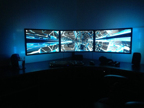Triple Monitor Array Lights