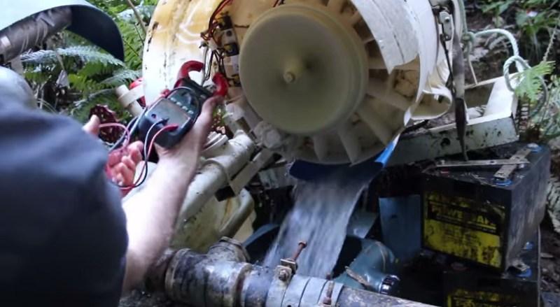 Hydropower Washing Machine