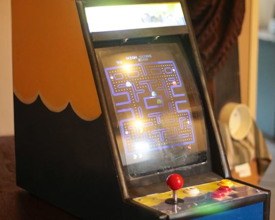 "Table-Top MAME Cabinet Dubbed ""The Water Cooler"""