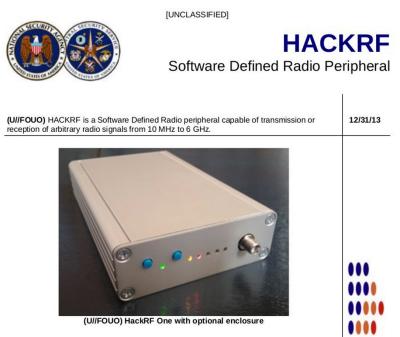 Fake ANT Catalog Entry for HackRF
