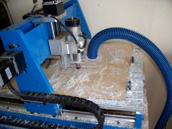 A DIY CNC dust collector