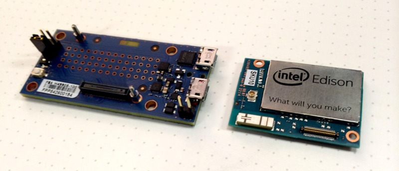 Hands On With The Intel Edison | Hackaday