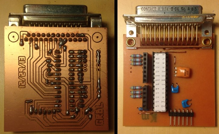 USB To DB25 Adapter Uses GRBL For Parallel Port CNC