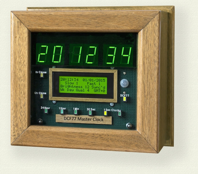 Master Clock Keeps Time For All Other Clocks | Hackaday